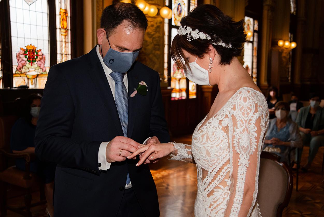 Anillos boda Ayuntamiento Valladolid