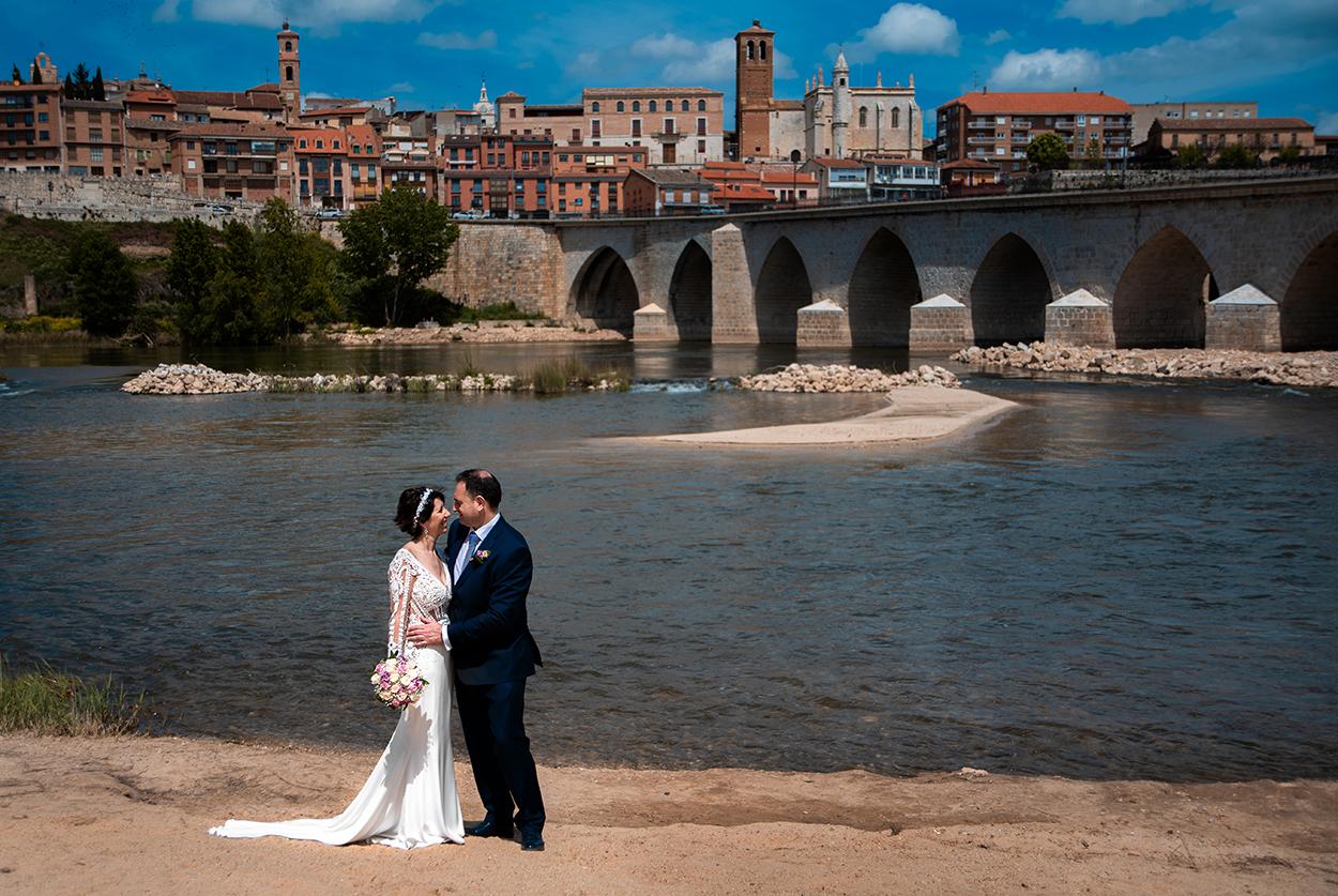 Reportaje recién casados Tordesillas